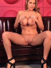Pictures of Alanah Rae spreading her legs and pussy