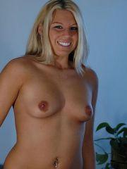 Pictures of Allison Virgin showing you her tits and panties