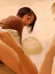 Pictures of teen Brittany Avalon getting off with Brandy Starr