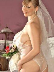 Pictures of teen Christy Marks ready to fuck you after her wedding