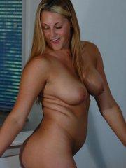 Pictures of Courtney Virgin getting topless for you