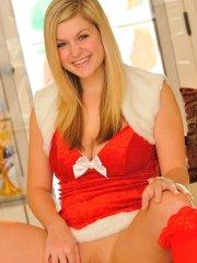 Pictures of Danielle FTV sending you holiday cheer this year