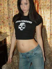 Pics of Dawn Avril teasing in a pair of jeans