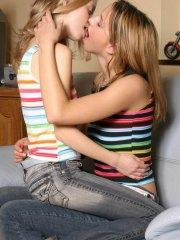 Pics of Erica and Ashley making out with each other