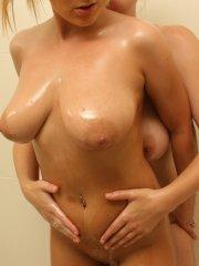 Pictures of Jessica Cutie and Brook Little getting it on in the shower