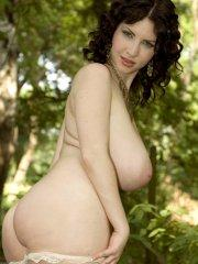Pictures of Karina Hart masturbating in the woods