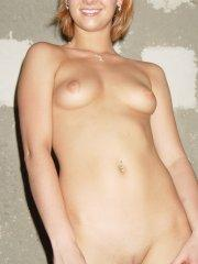 Pictures of Lindsey Marshal getting naked for the camera