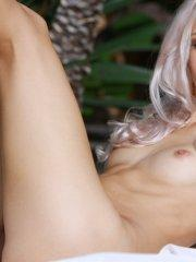Pictures of blonde beauty Adelia A naked and ready to fuck