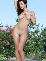 Pictures of Jenya D naked outside