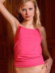 Pictures of teen Nastya 18 stripping down to her socks