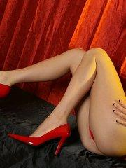 Pictures of Natalie Sins being your sexy little devil