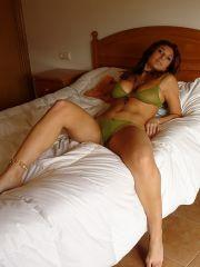 Pictures of Nayara Blue wearing a bikini in bed