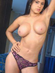 Selena Spice exposes her huge rack