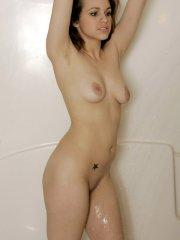 Pictures of Shauns Slut taking a shower