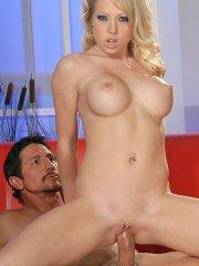 Pictures of Shawna Lenee getting her tight pussy fucked hard