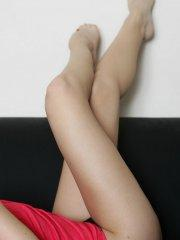 Pictures of Nicole Sparks showing her amazing legs