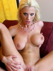 Pictures of Tanya James enjoying a hard cock