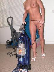Pictures of Teen Emery doing some kinky housework