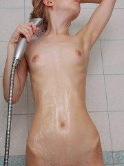 Pictures of Angie Cutie getting all wet for you